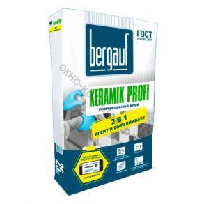 Клей универсальный для внутренних и наружных работ 25 кг Keramik Profi Bergauf