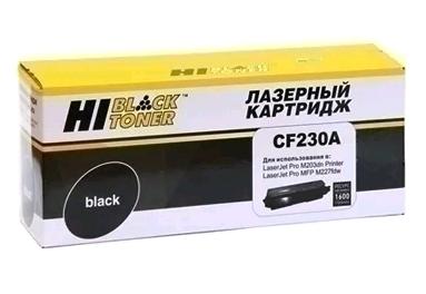 Тонер-картридж Hi-Black (HB-CF230A) для HP LJ Pro M203/MFP M227, 1,6K (с чипом)