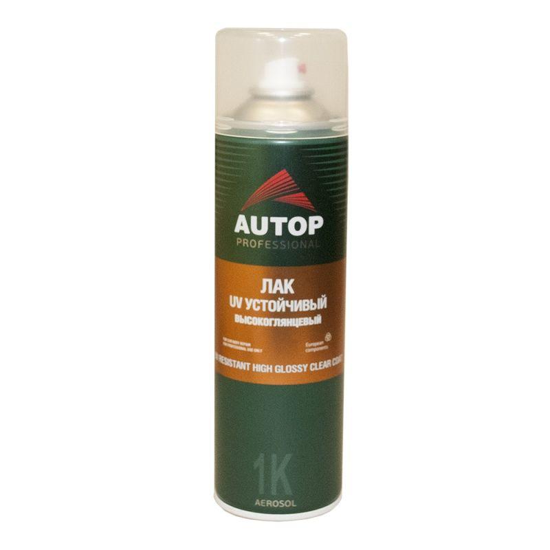 Autop Resistant High Glossy Лак UV №6 устойчивый, высокоглянцевый №6, в аэрозольном баллоне, объем 650мл.