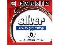 EMUZIN 6А202 (09-43) Струны для акустической гитары