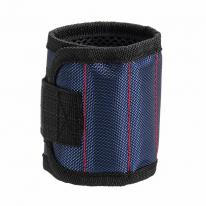 Строительный магнитный браслет Magnetic Wristband (3 магнита), синий