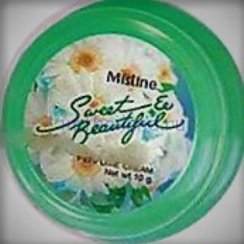 Парфюмированный крем для тела Mistine – твердые духи 10гр