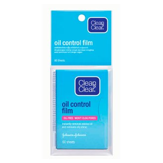 Матирующие салфетки для лица Clean & Clear 60 шт