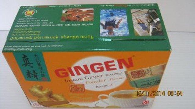 Имбирный чай Gingen instant beverage 10 пакетиков