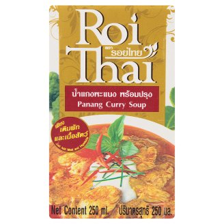 Основа для супа Панганг карри Roi Thai Panang Curry Soup 250 мл