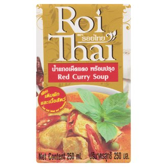 Красный Карри готовый тайский суп Roi Thai Red Curry Soup 250 мл