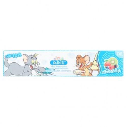 Тайская зубная паста для детей Мультифрукт Kodomo Lion Bubble 40 гр