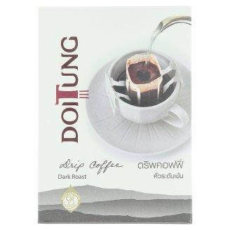 Сильно обжаренный кофе молотый (дрип кофе) Doitung 6 пак