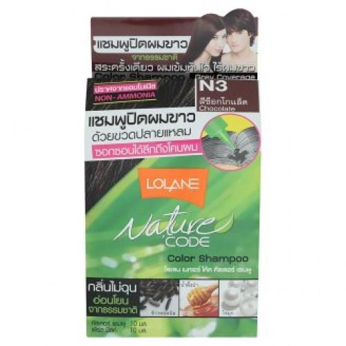 Тайский оттеночный шампунь для волос Lolane цвет Шоколад