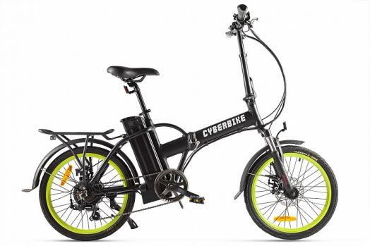 Велогибрид Cyberbike LINE Черный с желтым