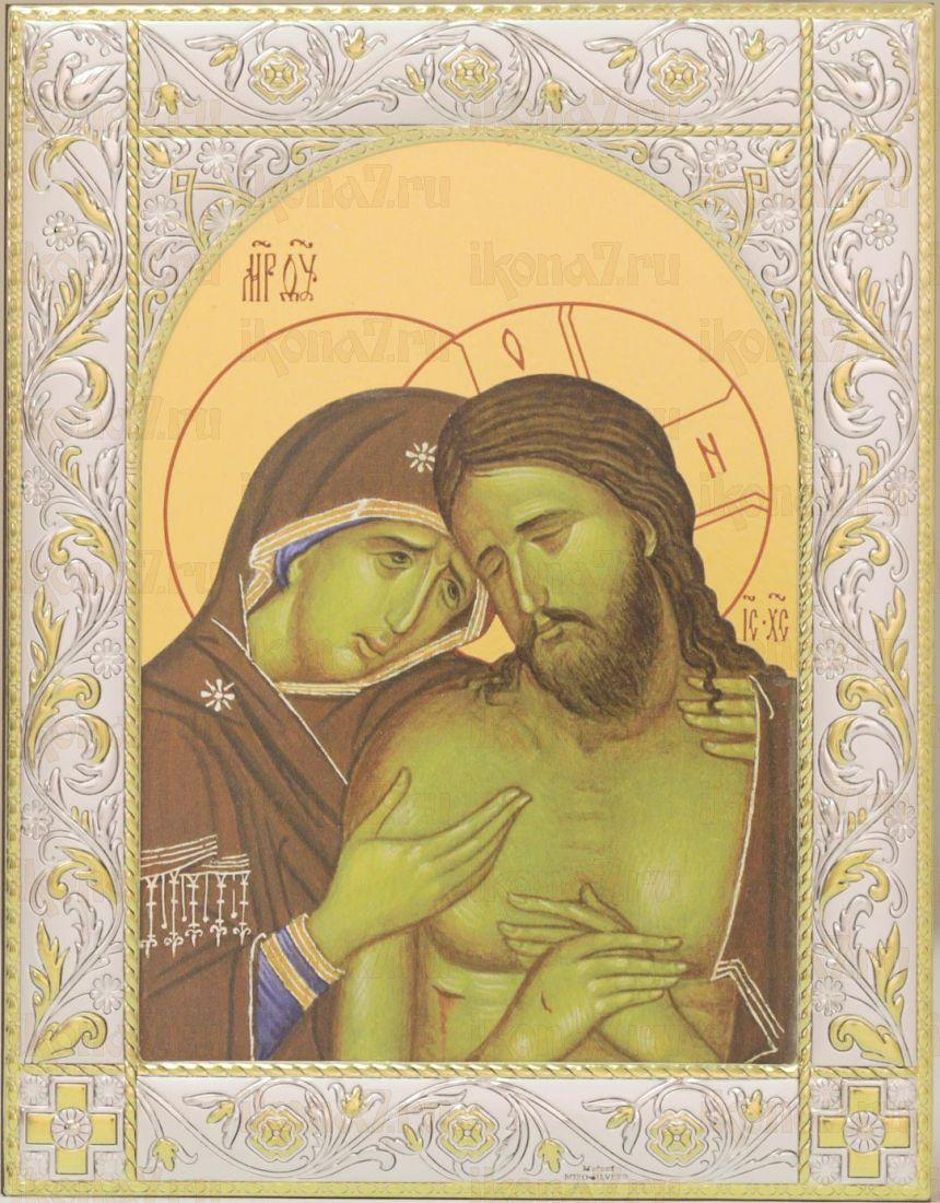 Икона Не рыдай Мене Мати (14х18см)
