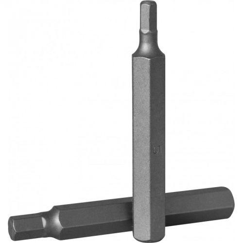 D175H70 Бита 10 мм, шестигранная 7 мм, 75 мм, S2 материал