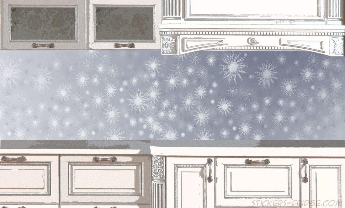 Фартук для кухни - Снежная путинка