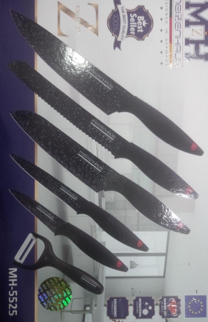 Набор ножей 6 пр. Berlinger Haus MH 5525 Zilinjer