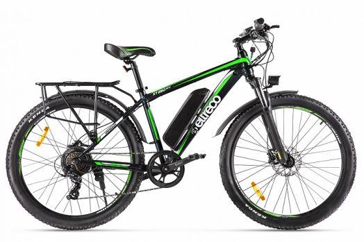 Велогибрид Eltreco XT 850 new Черно зеленый