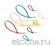 Набор хомутов цветных пластиковых НХ-2 REXANT