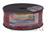 Кабель акустический 2х0.35 мм2 100м (красно-черный) PROCONNECT
