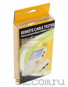 """Тестер Кабеля """"универсальный"""" RJ-45+RJ-11+RJ-12+USB+BNC (HT-2468B) REXANT"""