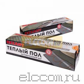 Теплый пол (нагревательный МАТ) REXANT Extra, площадь 6, 0 м2 (0, 5 х 12, 0 метров), 960Вт, (двух жильный)