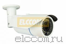 Цилиндрическая уличная камера IP 2. 1Мп Full HD (1080P), объектив 2. 8-12 мм. , ИК до 40 м. , 12В/PoE