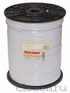 Кабель RG-6U+CU 64*(75 Ом) 305м белый REXANT