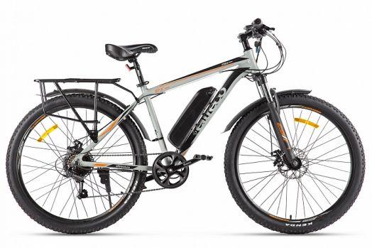 Велогибрид Eltreco XT 800 new Серо черный