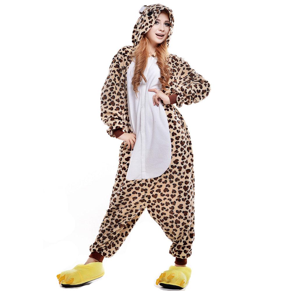 Пижама Кигуруми Леопард Премиум
