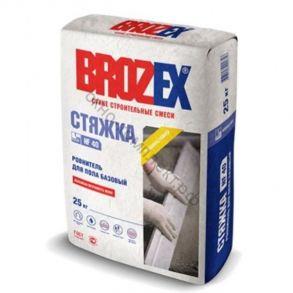 Ровнитель для пола Brozex NF-40 СТЯЖКА базовая 25кг