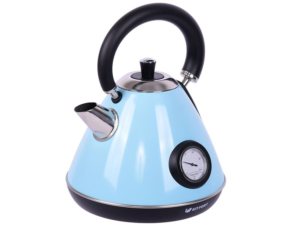 Чайник KitFort КТ-644-1 голубой