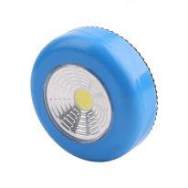 Светодиодный мини-светильник на липучке Stick Touch Lamp, синий