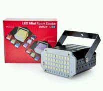 Комнатный мини-стробоскоп Mini Room Strobe 24 LED, чёрный
