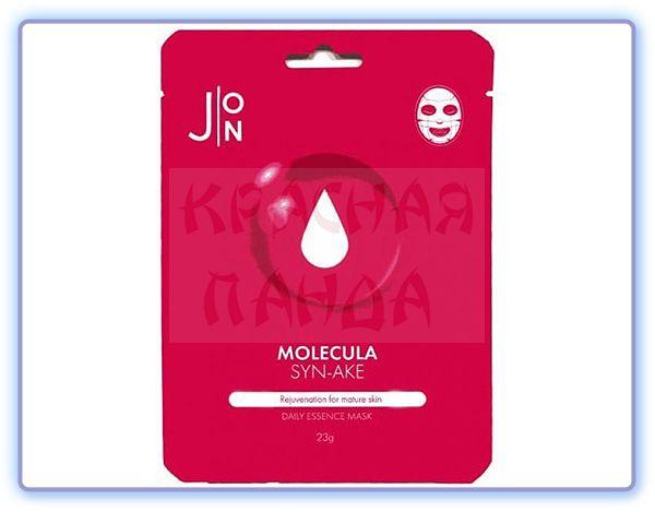 Маска для лица с пептидом змеи J:ON Molecula Syn-Ake Daily Essence Mask