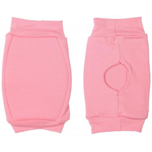 Наколенники для гимнастики и танцев INDIGO SM-113 хлопок розовые