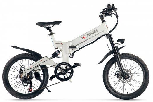 Велогибрид Kjing Power Sport Белый