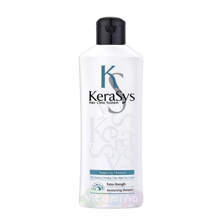 KeraSys Увлажняющий шампунь для сухих и ломких волос, 180 мл