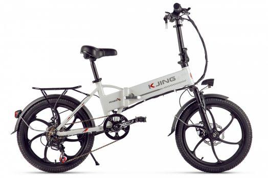 Велогибрид Kjing Power Lux Белый