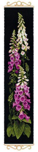 Набор для вышивания крестом Наперстянка №1629 фирма Риолис