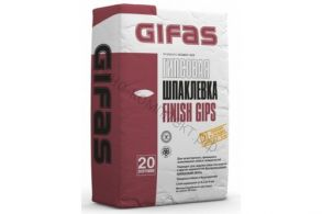 Шпаклевка финишная GIFAS Finish Gips 20кг