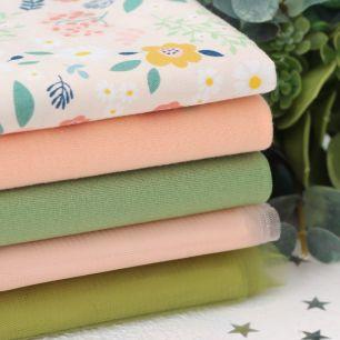 Набор тканей для творчества Цветущий персик