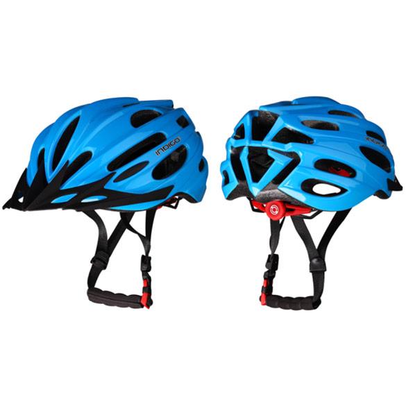 Шлем велосипедный взрослый INDIGO IN070 55-61см синий