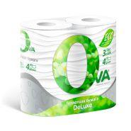 Туалетная бумага Ova Delux 8 рулонов