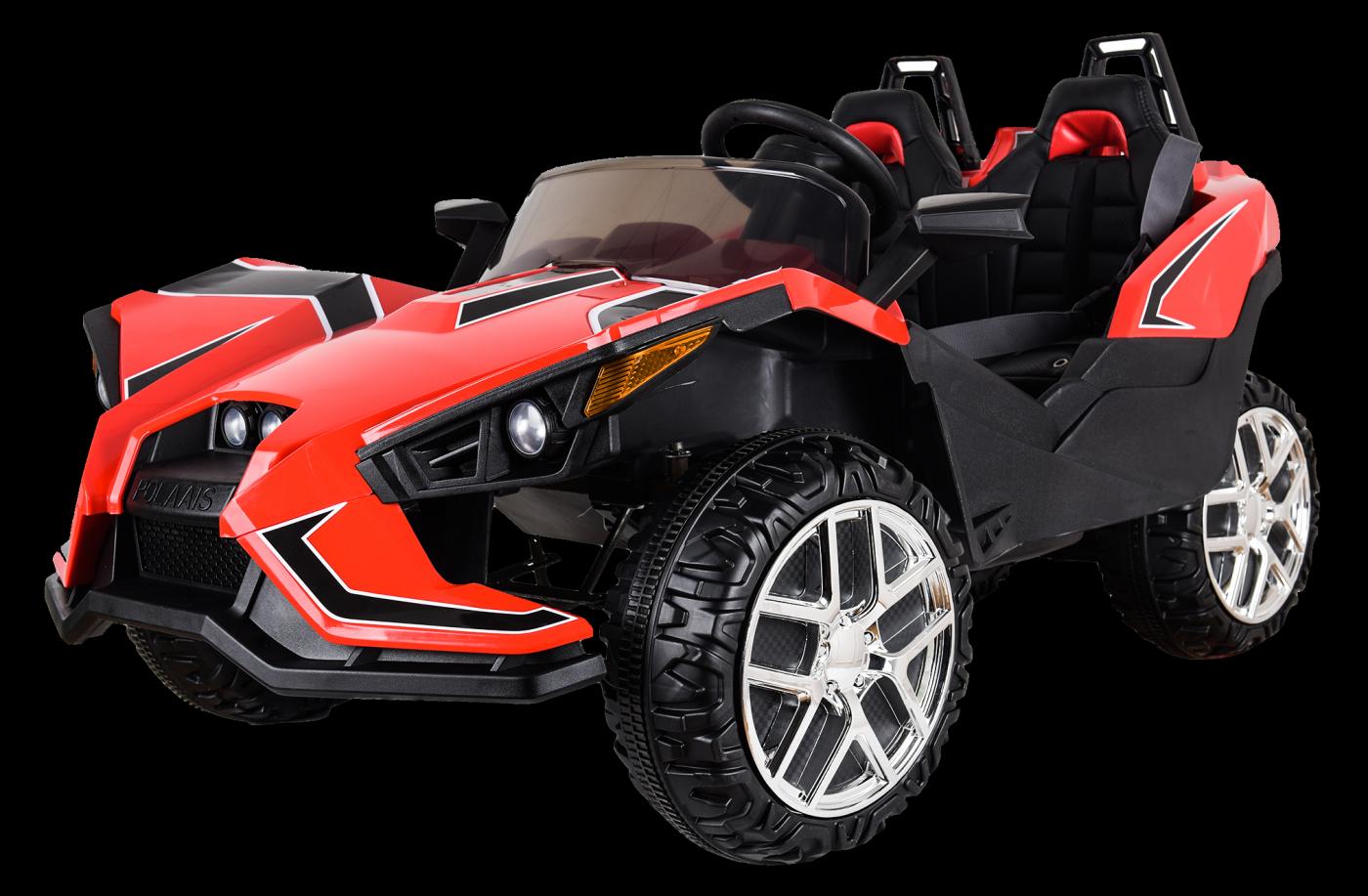 Детский электромобиль (2020) JC888 (12V, EVA, экокожа) Красный