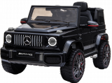Детский электромобиль (2020) BBH-0003 G63 (12V, колесо EVA, экокожа) Черный