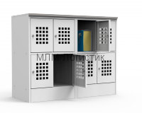 Металлический шкаф для сумок серии ШМ-С970