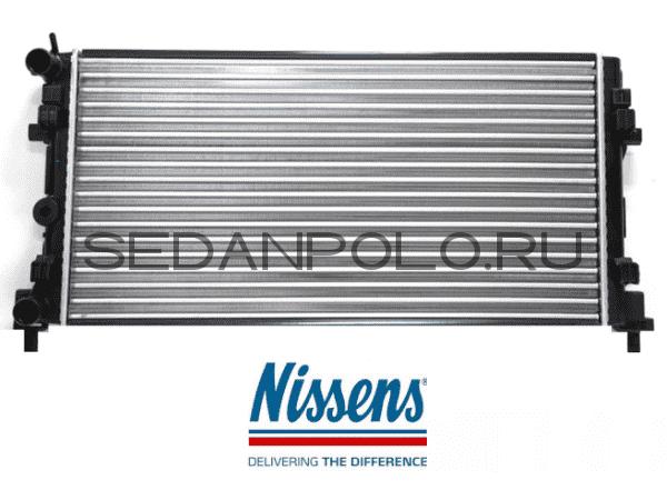 Радиатор системы охлаждения Nissens Volkswagen Polo Sedan/Rapid