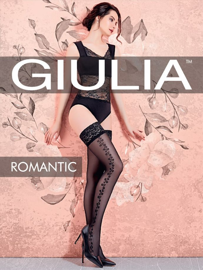 чулки GIULIA Romantic 01