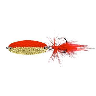 Блесна колеблющаяся Sprut Gurano Micro Spoon 40мм / 5,7 гр / цвет: GO