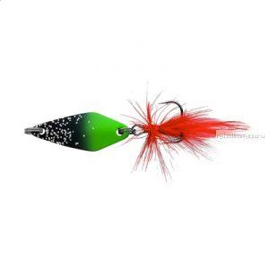 Блесна колеблющаяся Sprut Mihiko Micro Spoon 30мм / 4 гр / цвет: BKGR