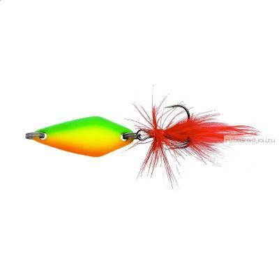 Блесна колеблющаяся Sprut Mihiko Micro Spoon 30мм / 4 гр / цвет: FTL