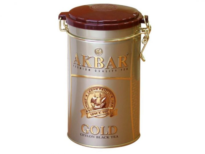 Чай Акбар голд ж/б 225г